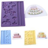 1Pcs DIY Cake Decorating Tools 6 Colors Cake Edge Frill Ribbon Embosser Cake Printing Mold Baking Tools & Pastry Tools ho672645