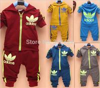Hot sale 2014 new Han edition style boy suit (jacket + pants). Children's suit. Children's clothes free shipping  A712