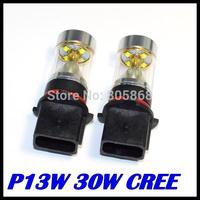 NEW CREE XBD P13W LED 30W High Power Fog Light DRL Daytime Running Light Car Lamp Signal Bulb 12V Free Shipping Wholesale