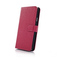 20pcs/lot New Arrival 5 colors High Quality Litchi Luxury Genuine Flip leather wallet Case For samsung S5 I9600 Free shipping