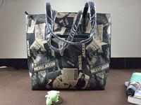 Michael Jackson printing women handbags Retro fashion shoulder bags female models free shipping 34cm/38cm