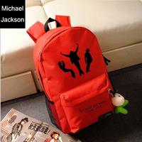 Star models Michael Jackson shoulder bag dance space backpack sports bags men women Shoulders package 28cm/45cm/12cm