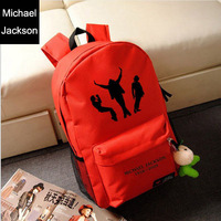 Star models Michael Jackson shoulder bag dance space backpack sports bags men women Shoulders package 28cm/45cm/12cm