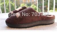2014 warm men memory foam slipper ,soft and warm inner sole , comfortable to wear it ,3 sizes