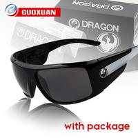 High Quality Brand Dragon Sunglasses Men The Shield Style Sun Glasses Cycling Bicycle Bike Sport Eyewear with Original Box