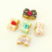 Armi store Handmade Accessories Pet Roses Ribbon Bow 23007 Dog Beauty Jewelry