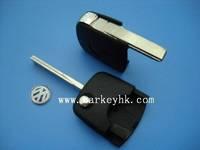 NEW Product  VW transponder key shell VW flip key head(round) for car key