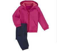 593# Free shipment fashion children clothing set 5set/lot wholesales  2 color autumn style
