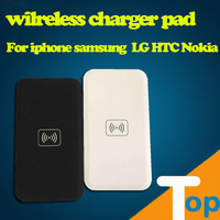 white QI Wireless Charger pad for Nokia Lumia 920 LG G2  D1L Samsung Galaxy S3 I9300 S4 S5 N7100 N9000  Nexus 4   free shipping