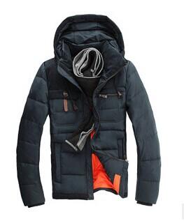 Top quality 2014 new men white duck down coat parkas Men s Winter thicken warm overcoat