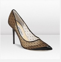 luxury lace women pumps black 2014 sexy pointed-toe women high heels summer shoes brand women autumn party dress shoes