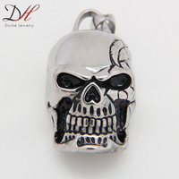 Big Size Best Selling Christmas Gifts Fashion Skull Pendant 316L Stainless Steel Necklaces & Pendants for Men, PD0802