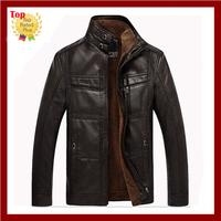 QT assurance Autumn & winter design men's genuine leather jackets ,men clothing,Man motorcycle casual  jackets,men coat(NSPY-12)