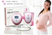 FDA CE Angel LCD Ultrasonic Handheld Pocket Fetal Doppler Baby Fetal Heart Rate Detector Prenatal Monitor Free P&P