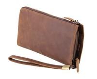 J.M.D vintage handbags crazy horse leather hand bag 2015 men bags super multifunction manufacturers men wallets card holder 8048