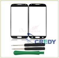 New Front Glass Lens Cover Screen for Samsung Galaxy SIV S4 i9500 Blue UK