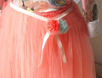 20pieces/lot,  Baby Girls Flower Belt, BJA301