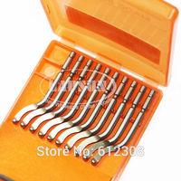 10pcs LEEWAY S10 Swivel Blades Deburring Tool BS1018  HSS Steel suitable for Deburring Stainless Steel Metal Plastic Wood