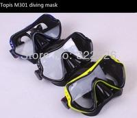 top quality diving mask, 1 piece lens diving mask large vision