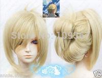 Vocaloid Attack on Titan/Shingeki no Kyojin Annie Leonheart Blonde Cosplay Wig Kanekalon Fiber no lace Hair full queen Wigs