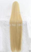150cm Supper Long Straight Beige cosplay party wig 388XKanekalon Fiber Hair full queen Wigs