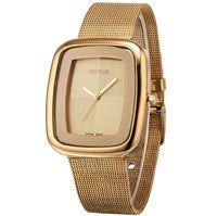 2014 gold watches men luxury brand pin time box relogio masculino business men's stainless steel sports women dress quartz watch