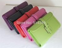 High-quality (1:1) 28CM  (H-handbags) French Women's Evening bag 100% Genuine leather (28X14X4CM)