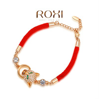 Wholesale fashion 18K Gold Plated Austrian crystal bracelet,new arrival factory prices RO182