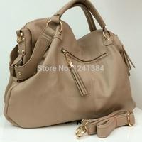 Classic Women Tote Bag Handbag Shoulder Bag M3198 black brown khaki color bags