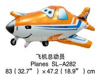 New 1p Cartoon Planes Plane Shape  Helium Foil Balloon Birthday Party Wedding Decoration Christmas Gift  Kids  Classic Toy