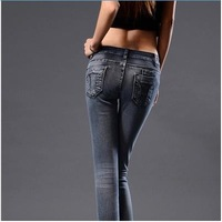 2014 new Fashion jeans woman Slim Fit Pencil Jeans For Female wholesale Free Shipping