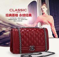 2014 New designer black special offer women ladys handbag 4colors women pu leather handbag shoulder bag CC bag