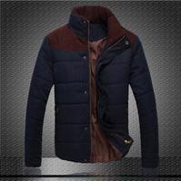 Factory direct sales duck down Men down-jacket coat Winter collar men's cultivate one's morality vest Parka