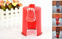 HOT selling  Creative Home Coke Sprite bottles inverted switching drinking fountains Desktop mini drinkers