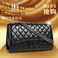 Free shipping 2014 hotsales CC bag women's chain bag plaid fashion flap bag shoulder women's handbag mini cross-body