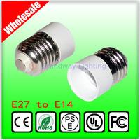 Grandwaylighting Convenient LED E27 to E14 Light Lamp Bulbs Adapter Converte