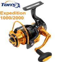 Tsurinoya  Expedition Front Drag Spinning Fishing Reels 9+1 Ball Bearings Free Shipping