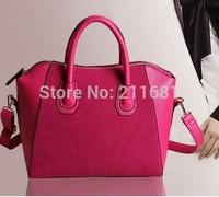 HOT SELL British Retro Messenger Bags Casual Fashion Women Matte Leather Handbags Vintage Shoulder Bag
