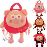 Hot sale 1pc 45cm Metoo girl sweet student children shoulder backpacks plush bag stuffed toy birthday gift free shipping