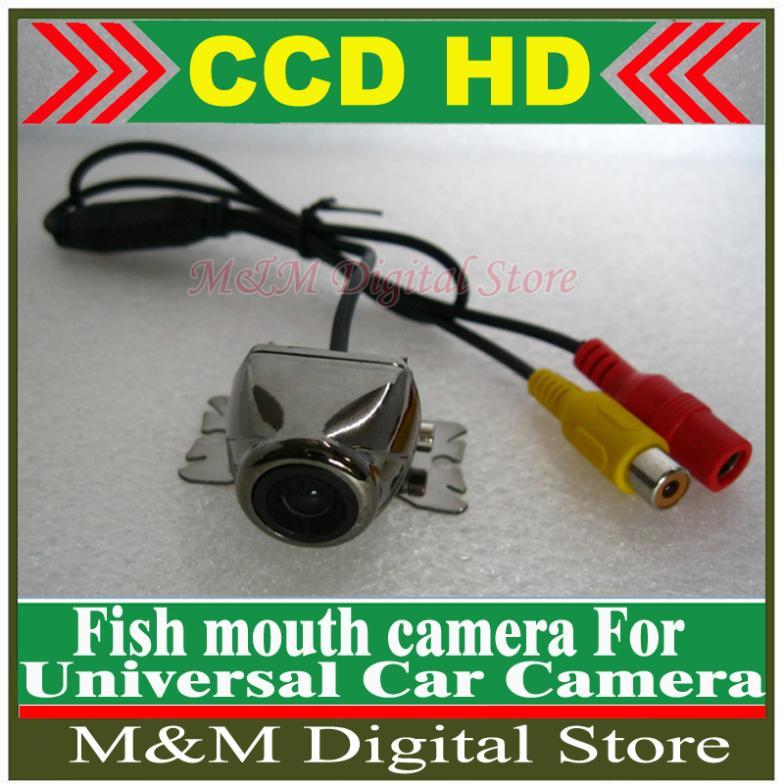 HD CCD Car Rear View Camera Reverse backup Camera rearview parking Wide Angle Waterproof Camera Universal Auto Parking Camera(China (Mainland))
