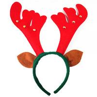 Christmas headband Christmas Eve dance headdress headband Elk horn headband Universal adults and children