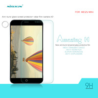 1pcs Nillkin H Series Anti-burst Glass Film for MEIZU MX4 ,Amazing H 9H 2.5D Nano Film for MEIZU MX4 with Retail Package
