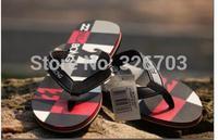 New 2014 Summer Men Brand Sandals,Billabong Leisure Soft Flip Flops,PVC Massage Beach Slipper Shoes For Men Free Shipping