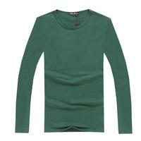 New winter men's t-shirt for men bottoming light board menswear trade original single authentic long sleeve t-shirt Men