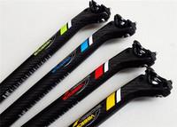 2014 Veetoka High Quality 27.2/30.6/31.8*350MM 3K Whole Carbon MTB  Seatpost Road Racing Bike Parts