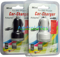 USB the car cigarette lighter Dual Port 5V 2.1Acar charger dual USB car charger usb interface cable cars