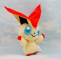 "Pokemon Plush Toys 7"" 18cm Victini Cute Soft Stuffed Animal Figure Collectible Doll Children Christmas Gift"