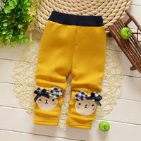 Free shipping Autumn and Winter baby girls cartoon thick leggings,children fashion leggings pants,girl trousers#Z773