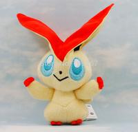 10pcs Pokemon Game Plush Victini Cute Toy Nintendo Character Stuffed Animal Soft Doll 6 inch