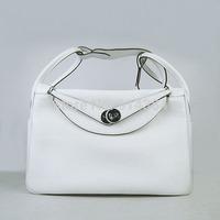 High-quality (1:1) 30CM 100% Genuine leather (H-handbags)  Women's handbags purse 100% Genuine leather Tote Silver  hardware